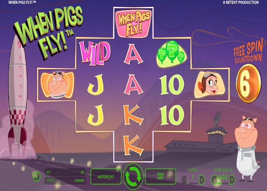 When Pigs Fly! Slot Review