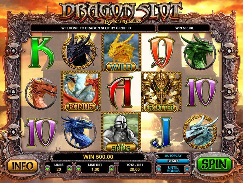 Dragon lord slot machine online