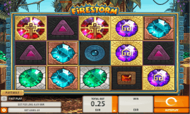 Firestorm slot machine screenshot