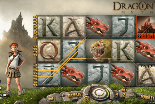 dragon myth slot screenshot