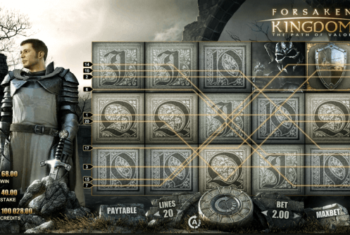 Forsaken Kingdom Slot screenshot