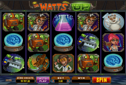 Dr Watts Up Slot screenshot