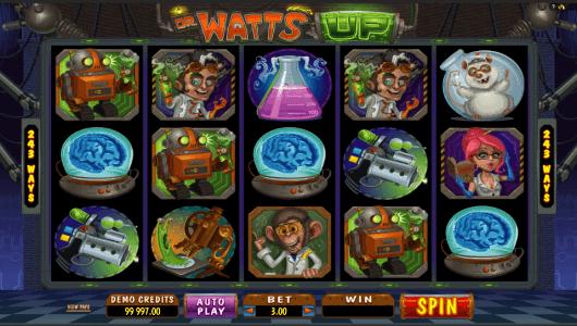 Dr Watts Up Slot screenshot
