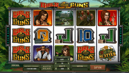 Girls With Guns Slot screenshot