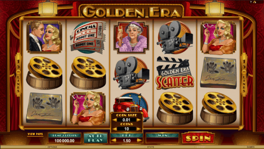 Golden Era Slot screenshot