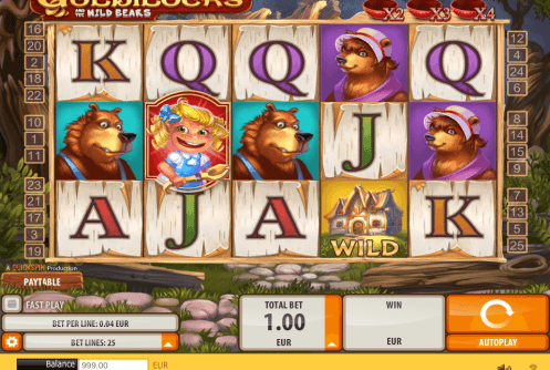 Goldilocks slot screenshot
