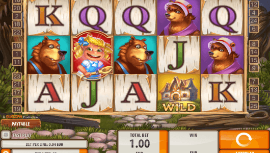 Goldilocks slot screenshot