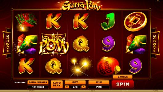 Gung Pow Slot screenshot