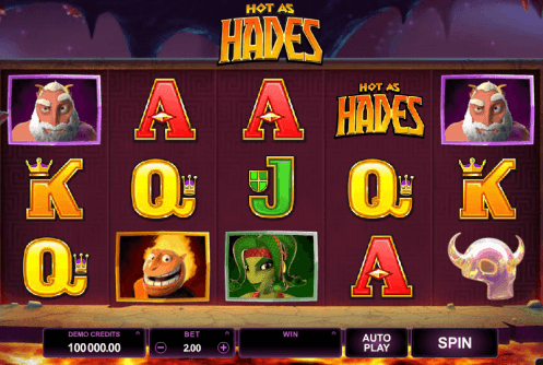 hot as hades slot screenshot