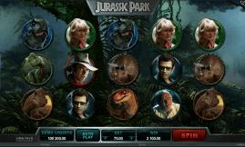 Jurassic Park Slot screenshot