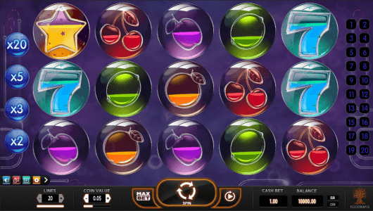 Pyrons slot screenshot