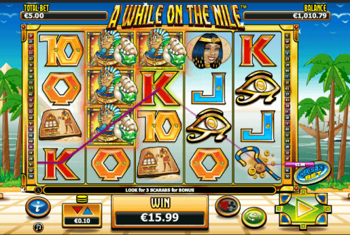 a while on the nile casino