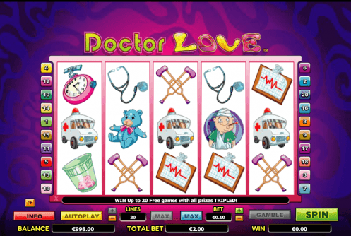 Doctor Love™ Slot Machine Game to Play Free in NextGen Gamings Online Casinos