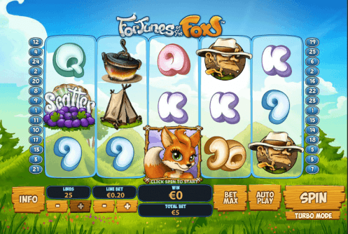 Foxy Fortunes Slot