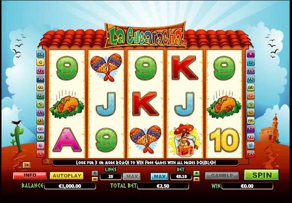 La Cucaracha Slot Machine Online ᐈ NextGen Gaming™ Casino Slots