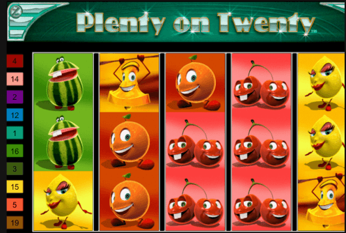 Plenty on Twenty Slot