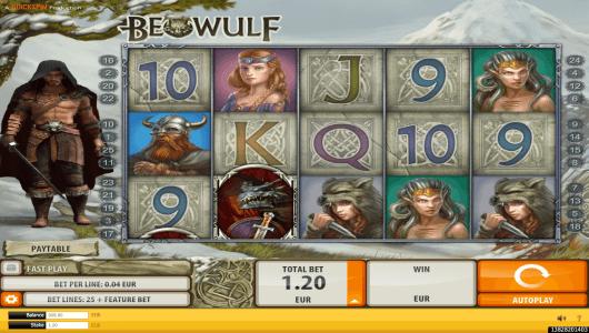 beowulf slot screenshot