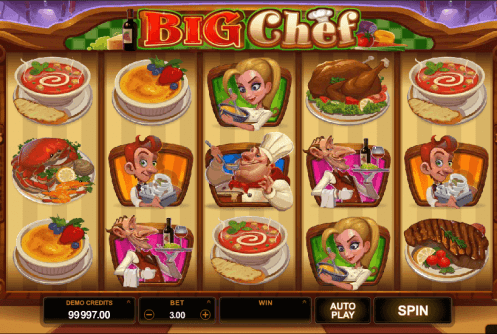 big chef screenshot