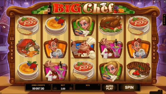 big chef screenshot