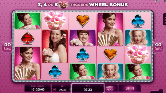 bridesmaids slot screenshot