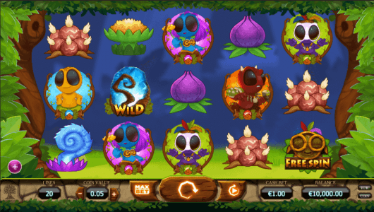Chibeasties slot screenshot