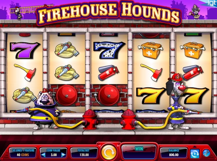 Firehouse Hounds Slot Machine