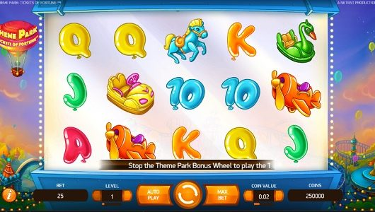 Theme Park Tickets of Fortune Slot Review