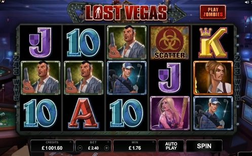 Lost Vegas Slot Review