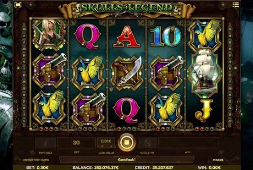Skulls of Legend Slot Review