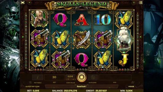 Skulls of Legend Slot Review