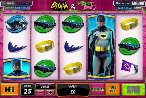 Batman and the Joker Jewels Slot Review
