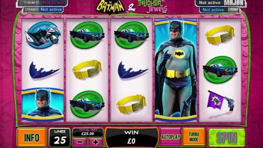 Batman and the Joker Jewels Slot Review