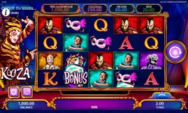 CIRQUE DU SOLEIL slot screenshot big