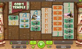 God's Temple slot screenshot big