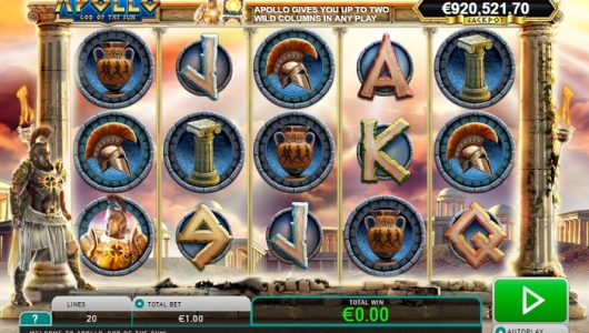 apollo god of the sun slot screenshot big