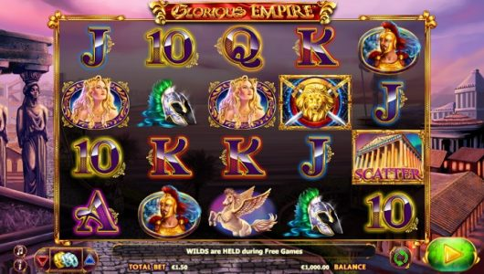 Glorious Empire Slot Screenshot big