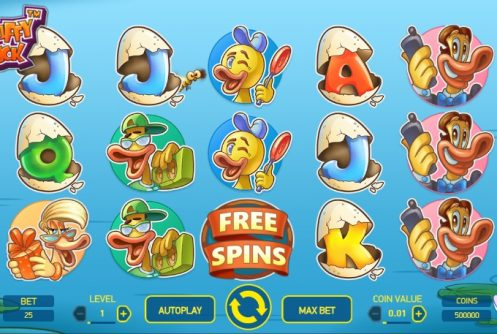 scruffy duck slot screenshot