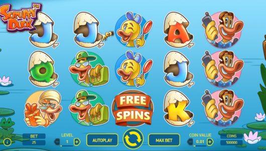scruffy duck slot screenshot