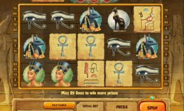 Mysteries of Egypt Slot screenshot big