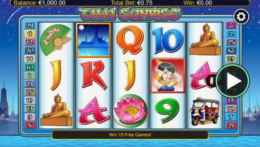 Thai Sunrise slot screenshot big