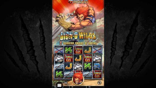 Thundercats slot screenshot big