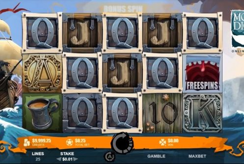 moby dick slot machine screenshot big