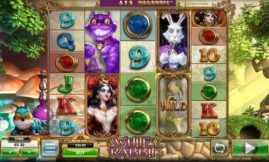 white rabbit slot machine screenshot big