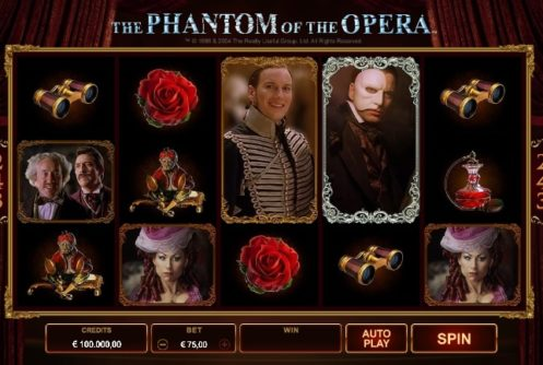 The Phantom of the Opera Slot screenshot big
