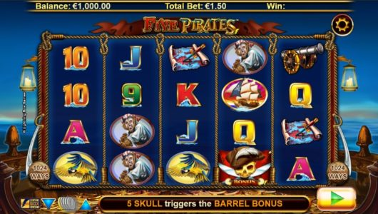 five-pirates-slot screenshot big