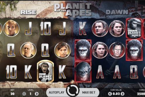 planet of the apes slot screenshot big