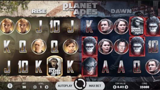planet of the apes slot screenshot big