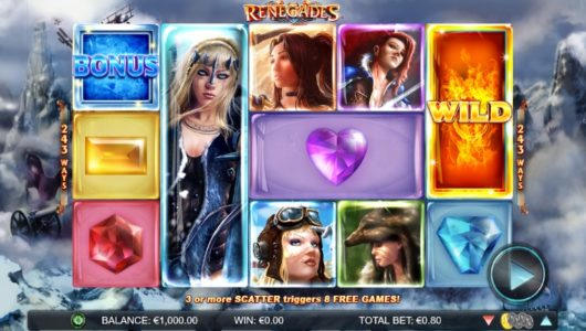 Renegades Slot screenshot big