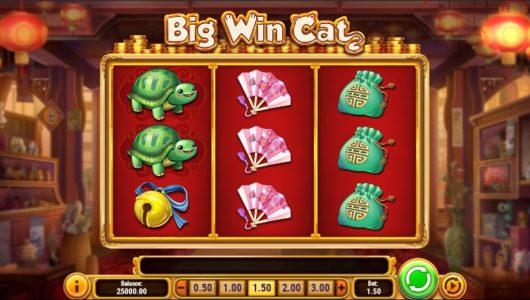 big win cat slot screenshot big