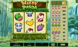 Wacky Panda Slot screenshot big